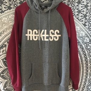 Reckless Gray Sweatshirt